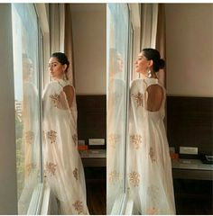 Only look back to see how far you've come 💫 Wearing Anu Emmanuel, Looking Back, Indian Actresses, Bollywood, Sari, Photo And Video, Wedding Dresses, How To Wear, Beauty