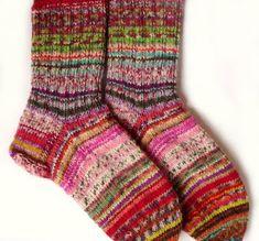 Techniek Kunterbunte Reste - Socken