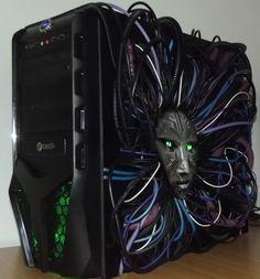 System Shock 2 Custom PC Case http://amzn.to/2pfClkD http://amzn.to/2tn9wQG