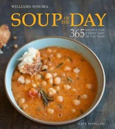 This tantalizing collection of 365 recipes offers a soup for each day of the…