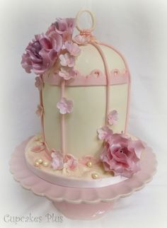 Birdcage Cake  Cake by cupcakesplus
