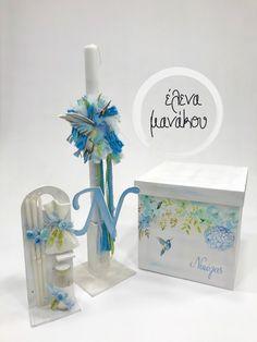 BLUE BIRD Κωδικός προϊόντος: A18-067  Βαπτιστικό κουτί φορετό 85€ Λαμπάδα κλασσική  75€ Λαδοσέτ  50€  #elenamanakou #newcollection #2018 #handpainted #handmade #vaptisi #baptism #christening #woodenbox #box #candle #madeingreece #baby #boy #babyboy #godmother #godfather #special #bird #blue #flower #costummade #personalizedbaptism #βάπτιση #κουτί #κουτίβάπτισης #λαμπάδα #νονός #νονά #χειροποίητες_δημιουργίες