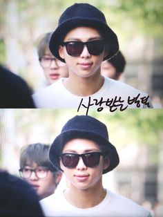 150522 BTS on their way to Music Bank