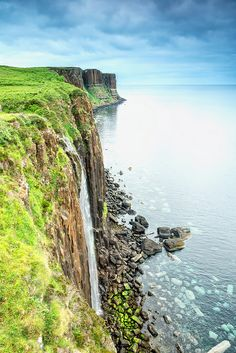Kilt Rock, Isle of Skye, Scotland I just have to visit the isle of Skye.