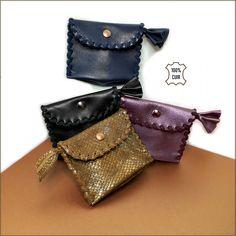 Porte monnaie femme en cuir souple - Petit porte monnaie femme fantaisie -  Porte monnaie cuir c7f2edf22de