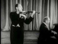 """Heifetz plays Debussy's """"La Fille aux Cheveux de Lin""""  - one of my favorites of his. Beautiful vibrato."""