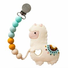 LouLou Lollipop - Silicone Baby Teether and Clip - Llama Baby Teethers, After Baby, Teething Toys, Teething Beads, Baby Arrival, Pregnant Mom, Baby Needs, Baby Hacks, Baby Registry