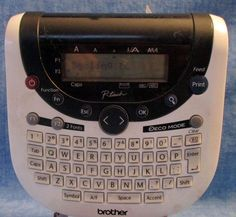 Brother PT 1290 Touch Thermal Label Maker    B4 #Brotheer