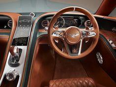 Cabin // Bentley EXP 10 Speed 6 Concept // Geneva Motor Show 2015