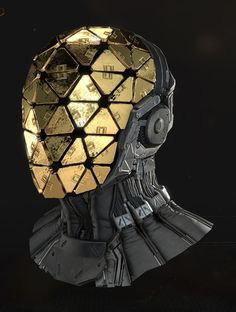"""""""Deus Ex - Mankind Divided Some helmets done while working as a character artist at Eidos. Concepts by: Bruno Gauthier Leblanc"""" Splash Zone - Artwork, doodles n WIPs - Page 16 Armor Concept, Concept Art, Zbrush, Science Fiction, Fiction Movies, Character Inspiration, Character Art, Deus Ex Mankind Divided, Arte Sci Fi"""