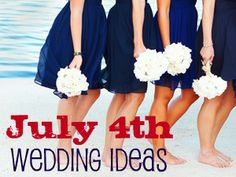 Ideas for blending patriotism into your Fourth of July wedding. Read the article: http://www.invitationsbydavidsbridal.com/Wedding-Planning/how-to-blend-patriotism-into.hlp?&sSource=Pinterest&kw=RedWhiteBlue_WeddingPlanning_July4Wedding #July4Wedding #RedWhiteBlue #HolidayWedding