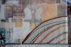 Helen Hallows: Tapestry Inspiration for a pendant using my leftover Gentle Art Sampler thread