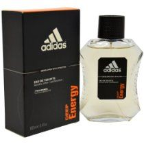 Adidas Deep Energy by Adidas For Men. Eau De Toilette Spray 3.4-Ounces  From adidas