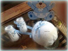 En lana, perlé y angora para bebé: 2016