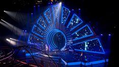 Corporate stage set on Behance Stage Set Design, Set Design Theatre, Concert Stage Design, Hotel Floor Plan, Maxon Cinema 4d, Stage Lighting, Staging, Backdrops, Scenery