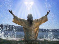"jesus picture by akiane   Jesus being baptised - ""preschool jesus baptised""   ""holiness ..."