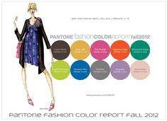 {trends} Pantone Fashion Color Report Fall 2012 | TheFashioniStyle