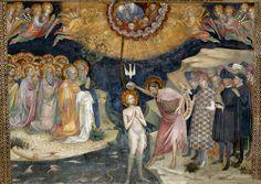Lorenzo e Jacopo Salimbeni - Il Battesimo di Gesù, 1416 nell'Oratorio di S.Giovanni Battista a Urbino