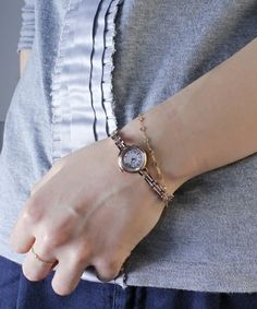 agete(アガット)の「ラウンドフェイスソーラーウォッチ 【AGETE36PG時計】(腕時計)」 詳細画像