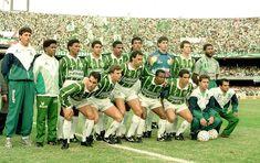 time posado palmeiras corinthians final paulistão 1993 (Foto: Agência Gazeta…