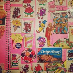 If you ever had a sticker album...you were awesome.