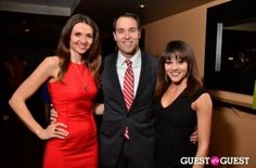 Jana Sedlakova, ABC7's Scott Thuman and Ashley Boalch