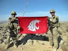 Waving the flag in Sha Wali Khot District, Afghanistan Washington State, Afghanistan, Waves, Photo And Video, Flag, College, Grey, Gray, University