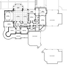 Lower Floor/Basement - CHATHAM GROVE Plan #M7785A2S2F2RD CornerStoneDesigns.com. 4 stories with 11,000 sq ft + 3280 sq ft (3) 2 car garages. 6 bedrooms, 5 full and 3 half baths, Rotunda staircase, elevator, fireplaces in Family rm, Study, Living/Music rm, Outdoor living, Master BR/Sitting rooms, Basement game/sitting rm., lg kitchen w/island butler & pantry, ex lg craft rm by kitchen, rec rm off master br, bonus rm on 3nd fl, Loft on 4th floor. IT'S A WINNER!