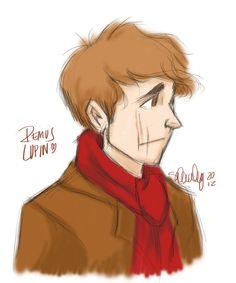 Remus Lupin by *sawebee on deviantART