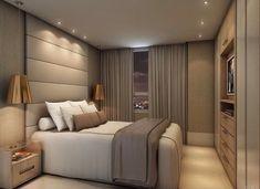 Risultati immagini per iluminação suite casal Room, Home Bedroom, Luxurious Bedrooms, Bedroom Inspirations, Modern Bedroom, Small Bedroom, Bedroom Decor, Home Interior Design, Bedroom