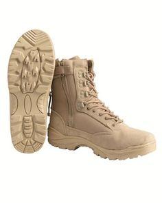 Tactical Boot mit YKK-Zipper 46,Khaki - http://on-line-kaufen.de/mil-tec/46-eu-tactical-boot-mit-ykk-zipper