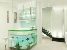 Fabulous Modern Fish Tank: Aquarium Design In Modern Home Ideas ~ Aquarium Inspiration