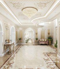 Вилла в Анталии: Прекрасный и аристократичный интерьер виллы в Анталии впечатляет своей элегантностью и безупречностью. Наши заказчики это семья с давними традициями и им х