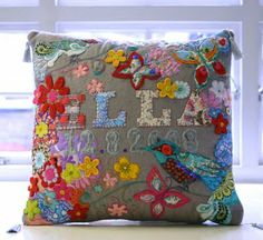 "chloe owens is a textile designer and illustrator, who is inspired by pattern and colour, especially from the 1960s. using fabric as her 'paints' and stitch as her 'pencil', chloe creates colourful pieces of art, toys, cushions and other crafts. after designing the cover of stylist magazine for an article on turning your hobby into a business chloe was approached by cico books to do a craft book full of her designs called ""all sewn up"" which will be out in february 2012"