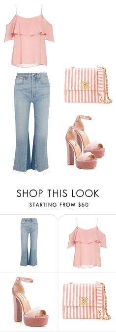 """""""d"""" by remembrandt ❤ liked on Polyvore featuring RE/DONE, BB Dakota, Steve Madden and Chanel"""