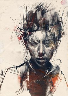Russ Mills aka Byroglyphics - Tigris print @ knee deep in sleep