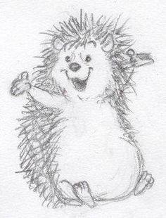 Hedgie by ShoJoJim on DeviantArt Hedgie. by ~ShoJoJim Cute Animal Drawings, Animal Sketches, Cute Drawings, Drawing Sketches, Pencil Drawings, Hedgehog Drawing, Hedgehog Art, Cute Hedgehog, Hedgehog Illustration