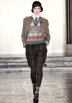Ralph Lauren.  Automne-hiver 2012-2013