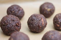 Healthy Snacking - Date Balls