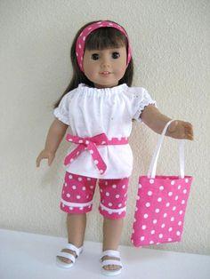 cute polka dot outfit