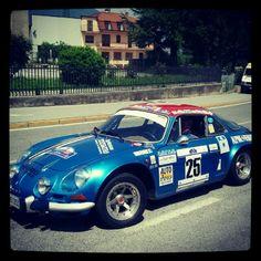 Renault Alpine, Rally Mille Miglia
