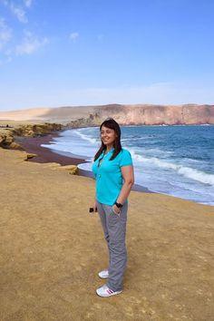Reserva de Paracas siamo en bella compagnia Daniela y Maurizio :) #peru4x4 #reservadeparacas
