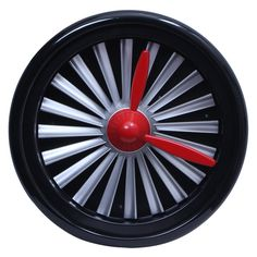 Jet Engineering Wall Clock