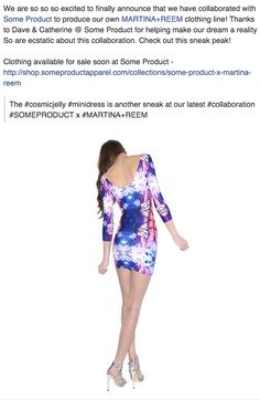 Martina+Reem Clothing Line Launch