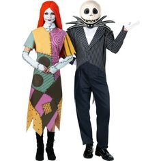Sally and Jack Skellington Couples Costumes  sc 1 st  Pinterest & 58 best Jack u0026 Sally Halloween costumes images on Pinterest | Sally ...
