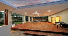 Pergola Design Ideas - Photos of Pergolas. Browse Photos from Australian Designers & Trade Professionals, Create an Inspiration Board to save your favourite images. Outdoor Areas, Outdoor Rooms, Outdoor Living, Pergola Patio, Backyard Patio, Backyard Ideas, Outdoor Decking, Corner Pergola, Indoor Outdoor