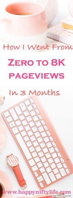 Increase Blog Traffic #blogging #blog #pageviews