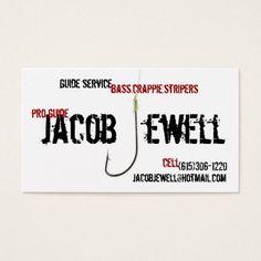 Professional fishing guide service business card fishing guide jacobs fishing guide service business card colourmoves