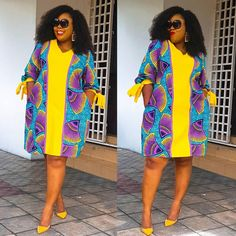 Latest Ankara Fashion Styles - Neyeka Fashion Ankara outfits for women. African prints styles for young beautiful ladies & curvy girls African Fashion Ankara, Latest African Fashion Dresses, African Print Fashion, Africa Fashion, African Style, African Print Dress Designs, African Print Skirt, African Print Dresses, African Prints