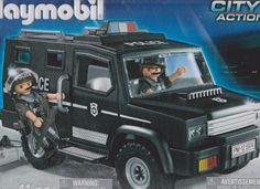 Playmobil 5974 Swat Tactical Police Vehicle by Playmobil. $44.79. The Swat team moves swiftly and quickly on their specialized vehicle.